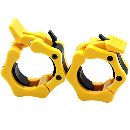 (Greententljs Olympic Barbell Clamps Quick Release Pair of Locking 2