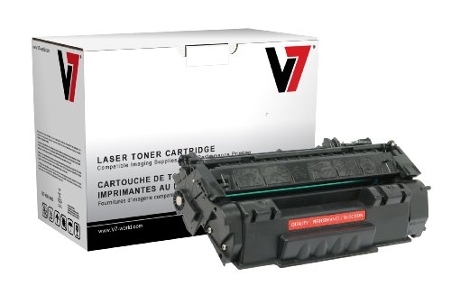 Price comparison product image V7 THK25949AM MICR Toner for Troy, HP printers (Replaces 0281036001, Q5949A(M), yield up to 2500 pages)
