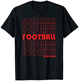 Birthday Gift Football Gift for Football Lovers  Retro Football Short and Long Sleeve Shirt/Hoodie