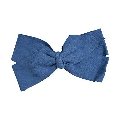 Denim Jumbo Bow Soft Cotton ()