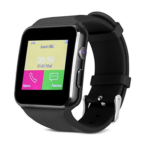 Smart Watch, Bluetooth Watch Touch Screen Smart Wrist Watch Support SIM Card, Pedometer, Sleep Monitor for Samsung LG Galaxy Note Sony Nexus Android ...