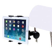 HAWEEL® Car Headrest Tablet Mount Holder for iPad Air / iPad 4 / iPad mini, Samsung Galaxy Tab, 7-11 inch Tablet PC(Black)
