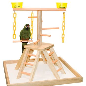 Acrobird PB20 Pyramid with Base Pet Toy, 20-Inch, My Pet Supplies