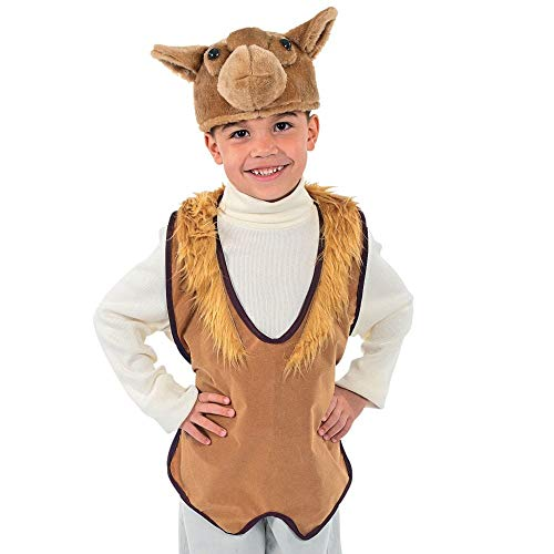 Fun Express Camel Hat & Vest Costume]()