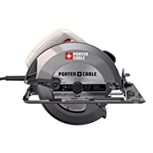 """PORTER-CABLE PC15TCS 15 Amp Heavy-Duty Circular Saw, 7-1/4"""""""