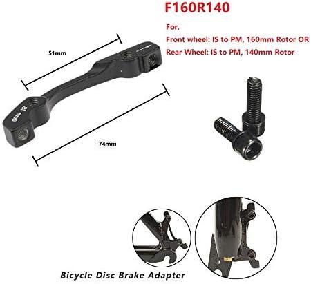 160 Rear Disc Brake Mounts Bike FSA Bicycle 74mm 180 Front