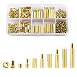 Litorange 180 Pieces M4 Male Female Hex Brass