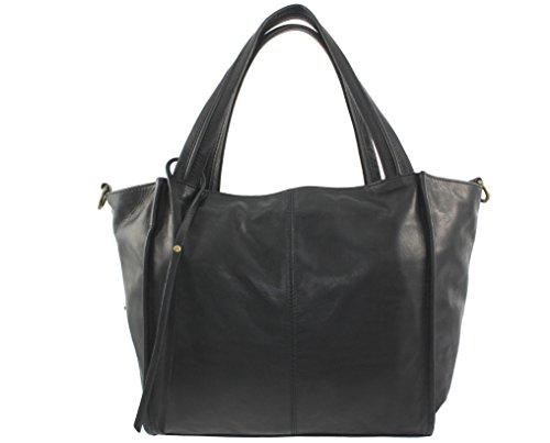 Noir sac Virginia cuir Italie cuir promotion Sac femme cuir main sac sac virginia italie cuir cuir sac à cuir sac grand sac sac Aq0nXS7