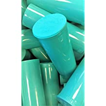 10 Piece Pack of Philips Aqua Rx 60 Dram. Premium Pop Top Medical Grade Vial Containers
