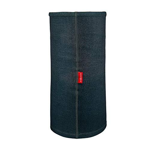 Gaiter large Black Merino Airhole Airtube Neck Ergo Medium 0YBUIq
