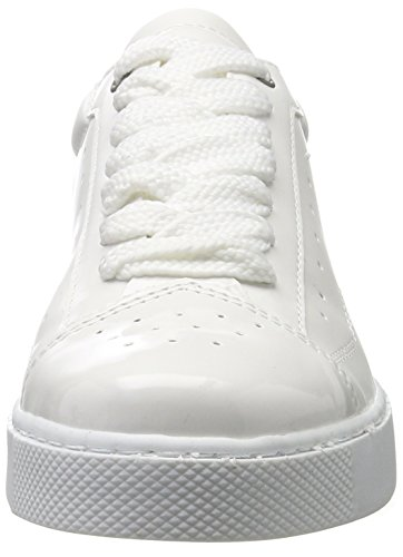 Tamaris Mujer white Para 23672 Zapatillas Patent Blanco Rw8t1Rrxq