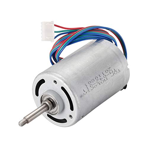 uxcell DC Brushless Motor 220V 0.28A 3 Phase with Dual Ball Bearing Electric High Speed Motor 3 Wires for 775 Motor Electric Drill Hobby DIY