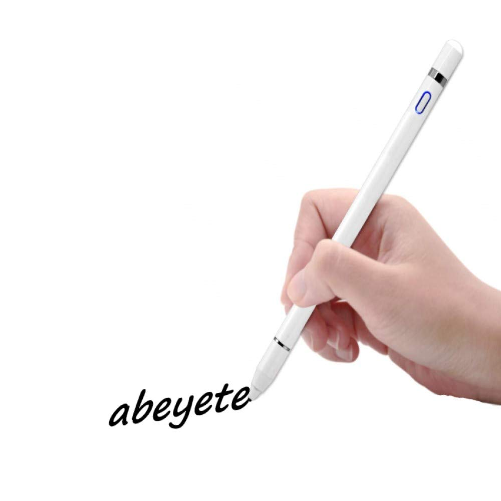 Abeyete Penna Touch Screen per iPad 1.0mm Pennino Ricaricabile Penne 20 Ore Continue Work con USB Cavetto Compatibile con iPad 6//7th Gen//Air 3rd Gen//PRO//PRO 3rd Gen//Mini 5th