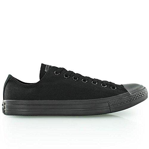 Converse Women's Chuck Taylor All Star Hi Sneaker  Black Monochrome 5 M US