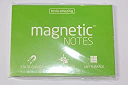 Tesla Amazing Magnetic Notes M-size (100x74)mm (Green)