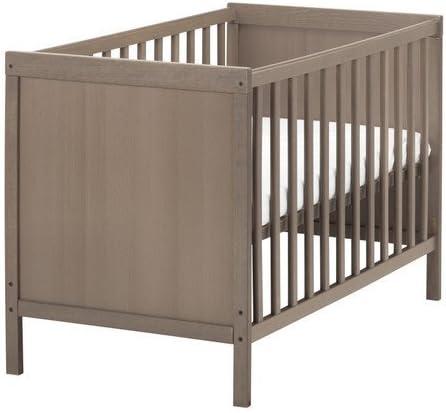 Ikea SUNDVIK - Cuna, gris-marrón - 60x120 cm: Amazon.es: Hogar
