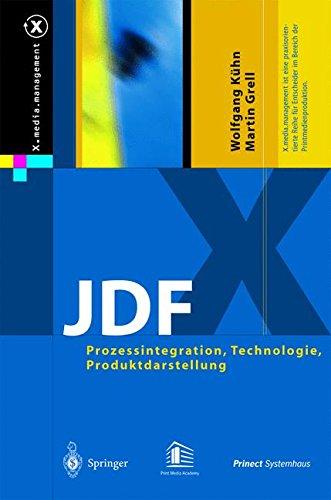 JDF: Prozessintegration, Technologie, Produktdarstellung (X.media.management)