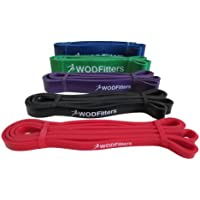 WODFitters Pull Up Assistance Bands - Stretch Resistance...