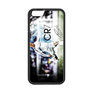 Generic Cristiano Ronaldo Cell Phone Hard Case for iPhone 6(4.7) Plastic & TPU (Laser Technology)