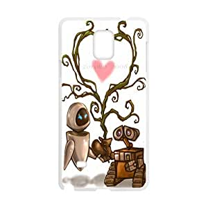 DAZHAHUI wall-e and eve wide Case Cover For samsung galaxy Note4 Case