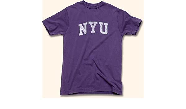 Amazon.com  New York University NYU Arch Logo T-Shirt by Red Jacket Size  XL  Sports   Outdoors 496ea7745