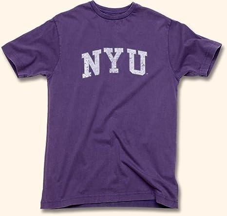 652b3357e43 Amazon.com  New York University NYU Arch Logo T-Shirt by Red Jacket Size  XL  Sports   Outdoors