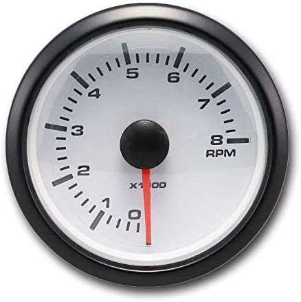 Amazon.com: MOTOR METER RACING Universal Tachometer for Gasoline 2