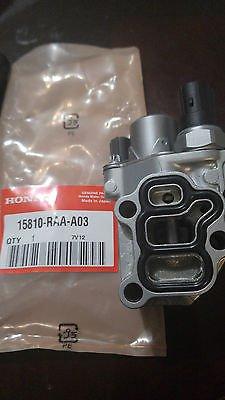 Genuine OEM 15810-RAA-A03 2002-2011 Honda / Acura Spool Valve - VTEC Solenoid