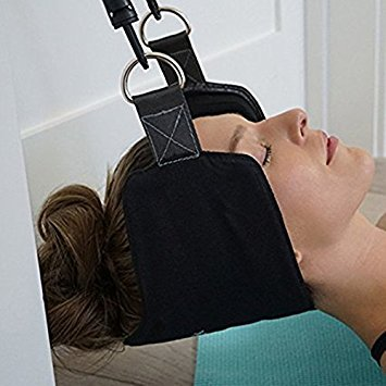 OmniEssence Premium Hammock for Neck - Portable Relaxation Supporter for Neck & Shoulder Stress Relief - Easy to Use at Home or Office
