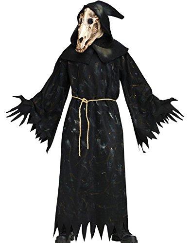 Horse Skull Demon Adult Costume (Demon Horse Costume)
