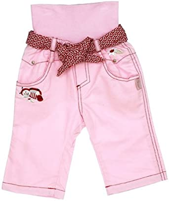 Pink 12-18m Sterntaler Girls Knit Trousers Size
