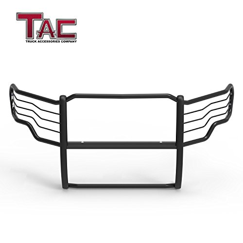 TAC Grill Guard Compatible with 2009-2014 Ford F150(Excl. 10-14 F150 Raptor Models) Pickup Truck Black Front Brush Bumper Guard Push Guard Off Road Automotive Off Road Automotive Exterior Accessories