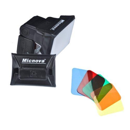 Micnova Universal Gel Softbox Diffuser for External Camera Flash Units (MQ-B6) Yanyee International Inc.