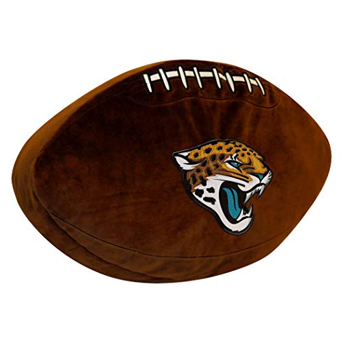 Officially Licensed NFL Jacksonville Jaguars 3D Sports Pillow