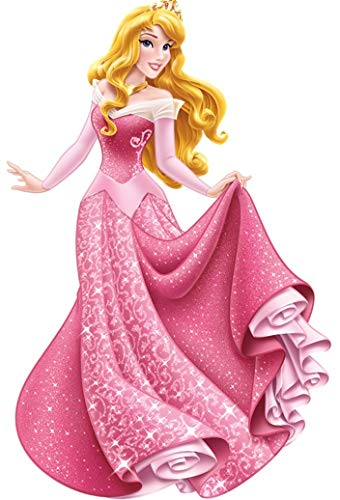 11 inch Aurora Sleeping Beauty Decal Disney Princess Princesses Removable Wall Sticker Art Walt Home Decor 6 inches Wide by 11 inches Tall (Sleeping Beauty Decal)
