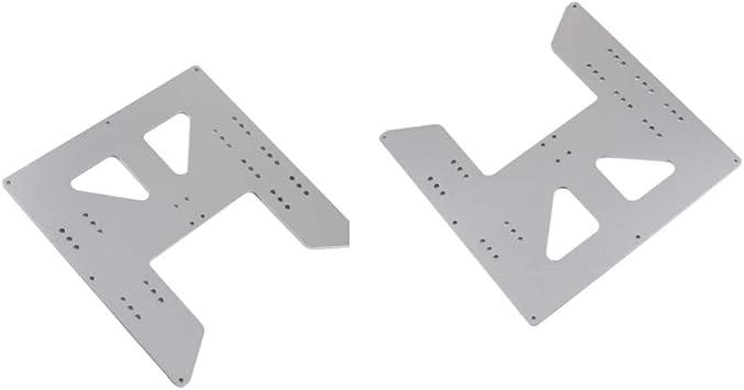 non-brand Impresora 2 x 3D HeatBed Eloxierte Aluminio y Placa de ...