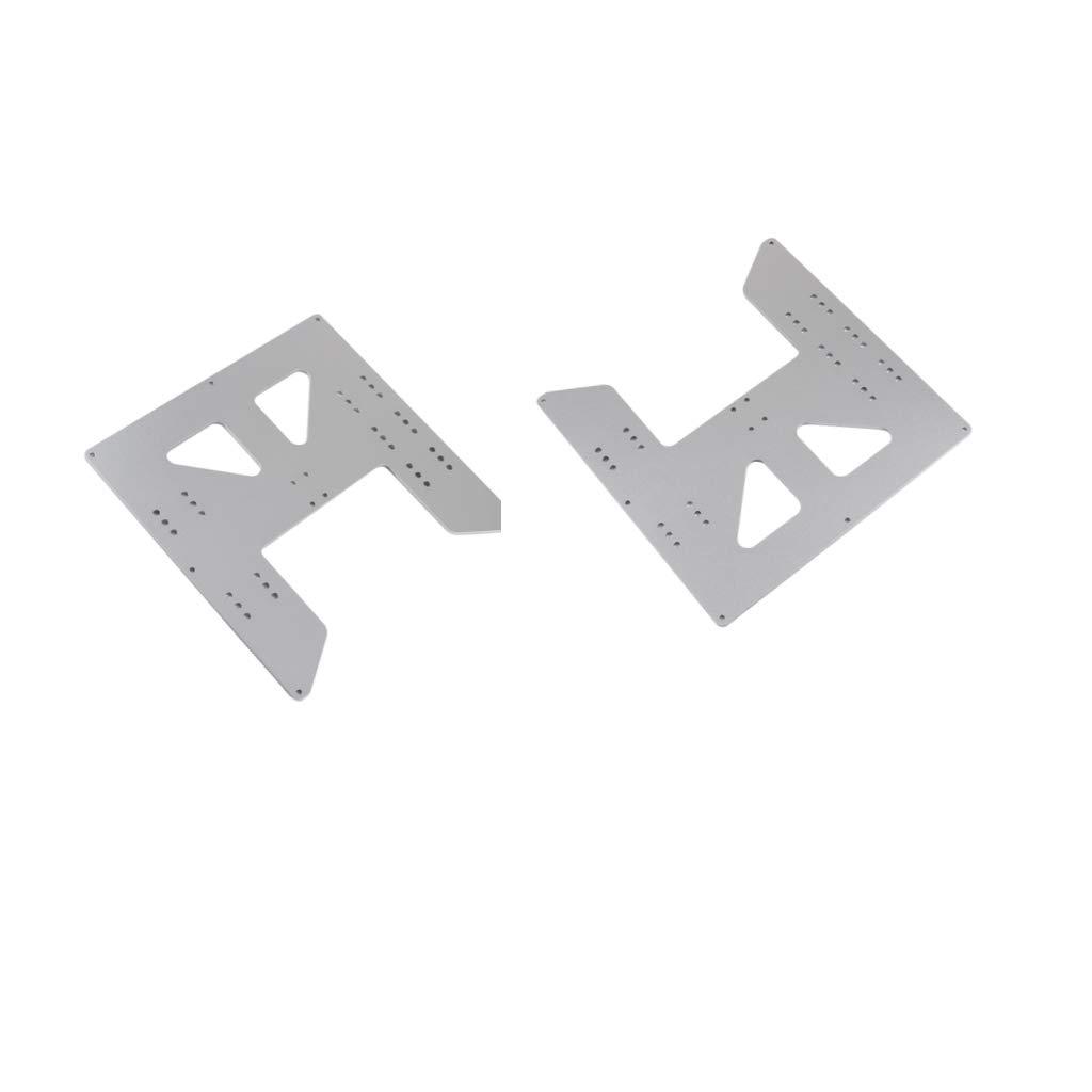 F Fityle 2X Placa de Inserción de Mesa de Fresadora de Aluminio ...