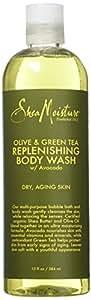 Shea Moisture Olive & Green Tea Body Wash, 13 Ounce