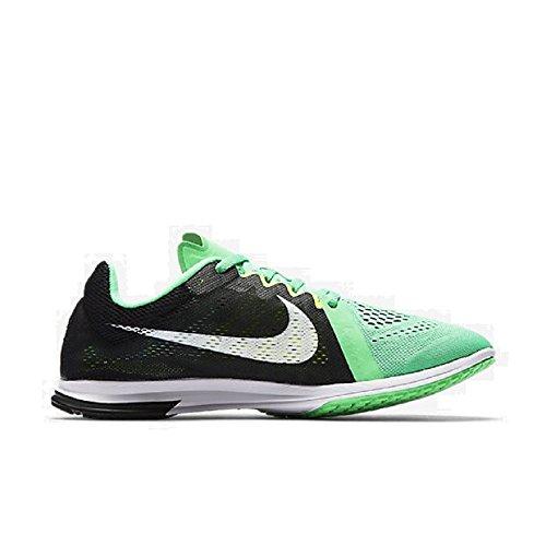 Nike Nike Zoom Streak LT 3–Black/White-Electro Green GHOS, multicolore