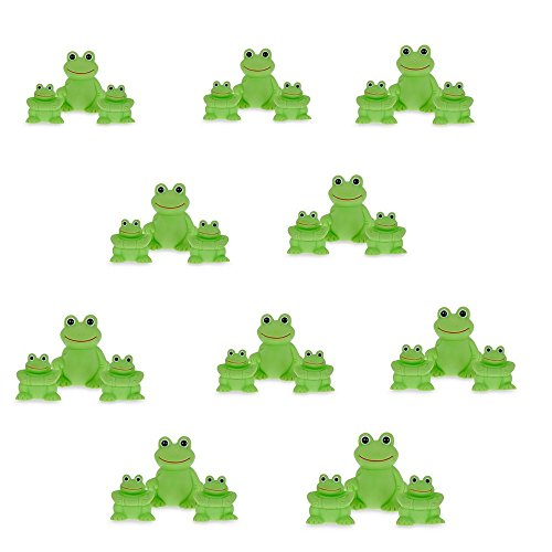 Vital Baby Play 'n' Splash Family, Frogs, 3 Counts (10 packs of 3 counts)) by Vital Baby