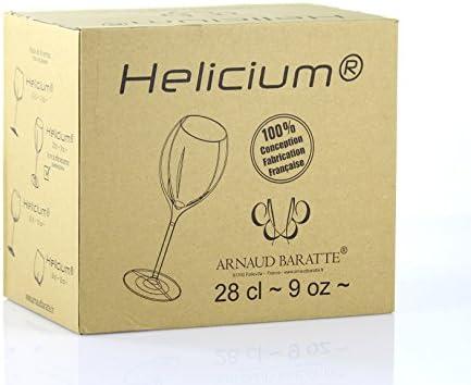 Hélicium - Vaso para champán y vinos efervescentes (28 cl)
