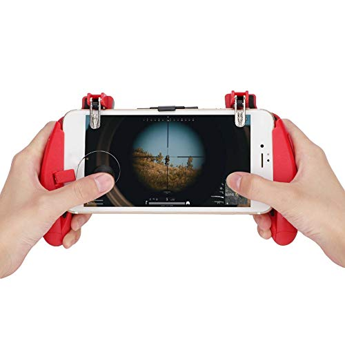 (Mobile Game Handle Controller - Z8 Two-Color Reversible Ergonomic Design Joy-Con Handle Bracke Mobile Phone Grip)