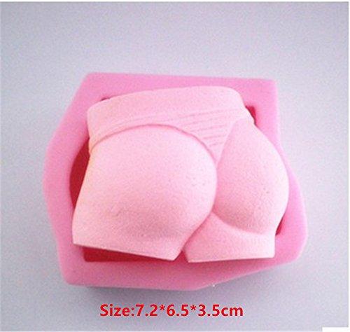 Sexy Underwear Silicone Cake Mould Fondant Sugar Craft Chocolate Decorate Tool