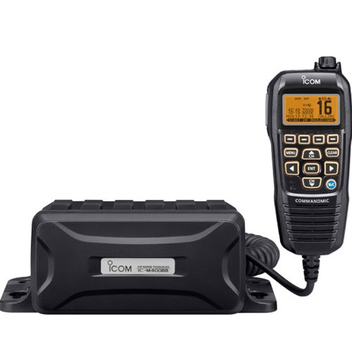 ICOM IC-M400BB Icom IC-M400BB Modular VHF Marine Radio with Black Command Mic IV