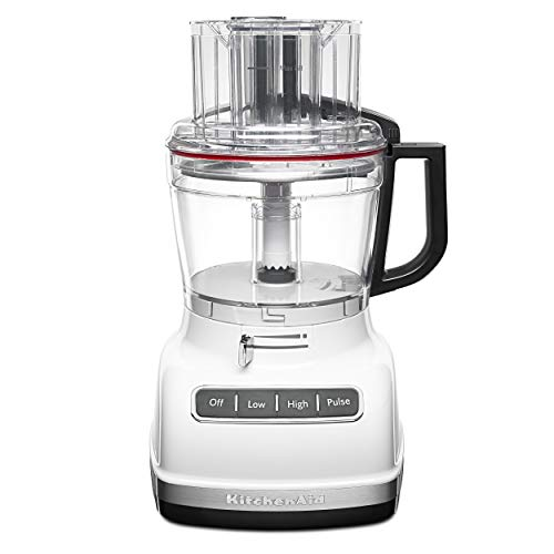 KitchenAid KFP1133WH 11-Cup Food Processor with Exact Slice System – White
