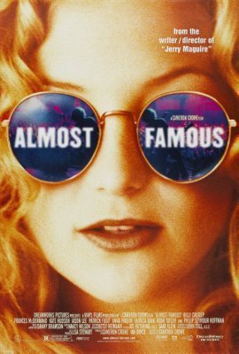 Almost Famous Movie Poster sunglasses