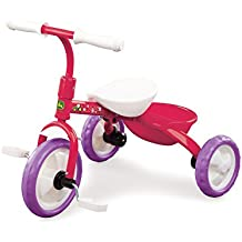 John Deere Steel Tricycle Pink