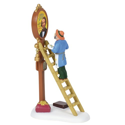 - Department 56 Dickens Village Victorian Sign Painter Accessory Figurine 6000599