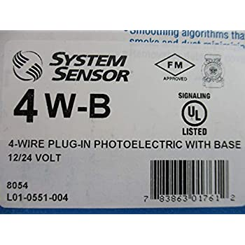 system sensor 2w b i3 series 2 wire photoelectric i3. Black Bedroom Furniture Sets. Home Design Ideas