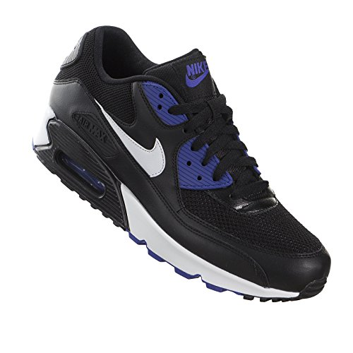 Nike Air Max 90 Essential Black / White / Morado (Black / White-Persian Violet)